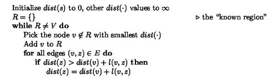 ROSALIND | Glossary | Algo: Dijkstra's algorithm